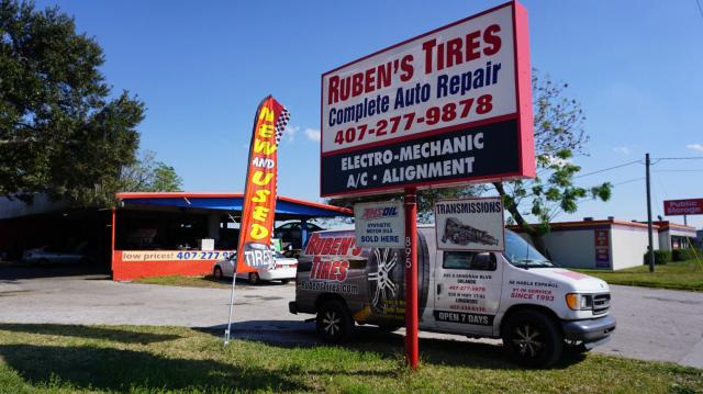 Ruben's Tires Service III image 0