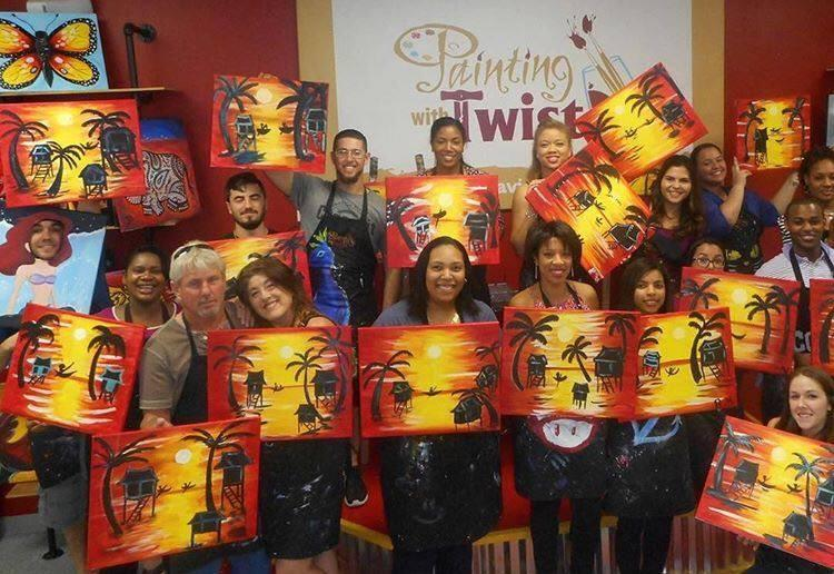 Painting With A Twist 5810 S University Dr Suite 106 Davie Fl