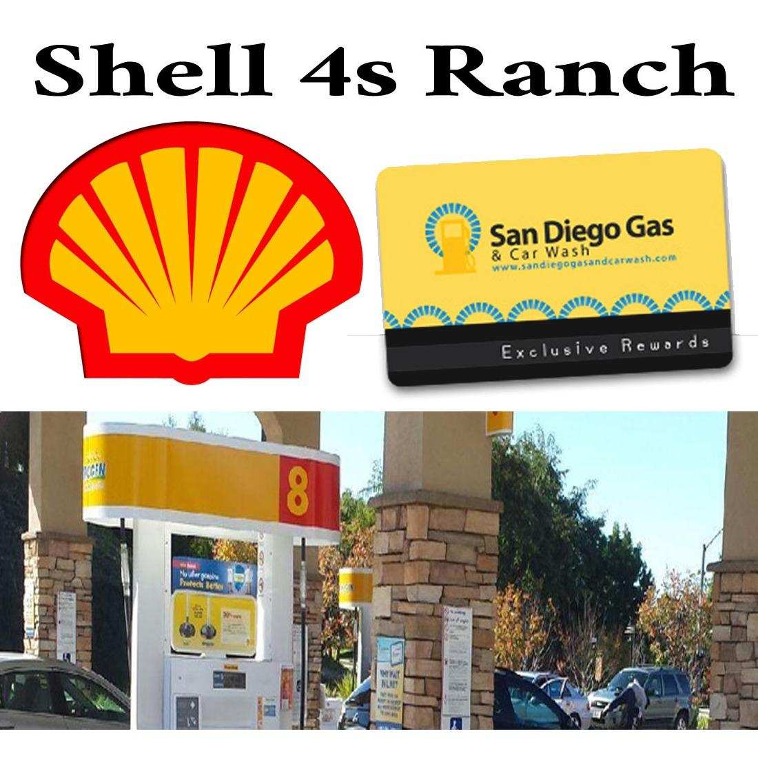 4S Ranch Shell Gas Station and Car Wash