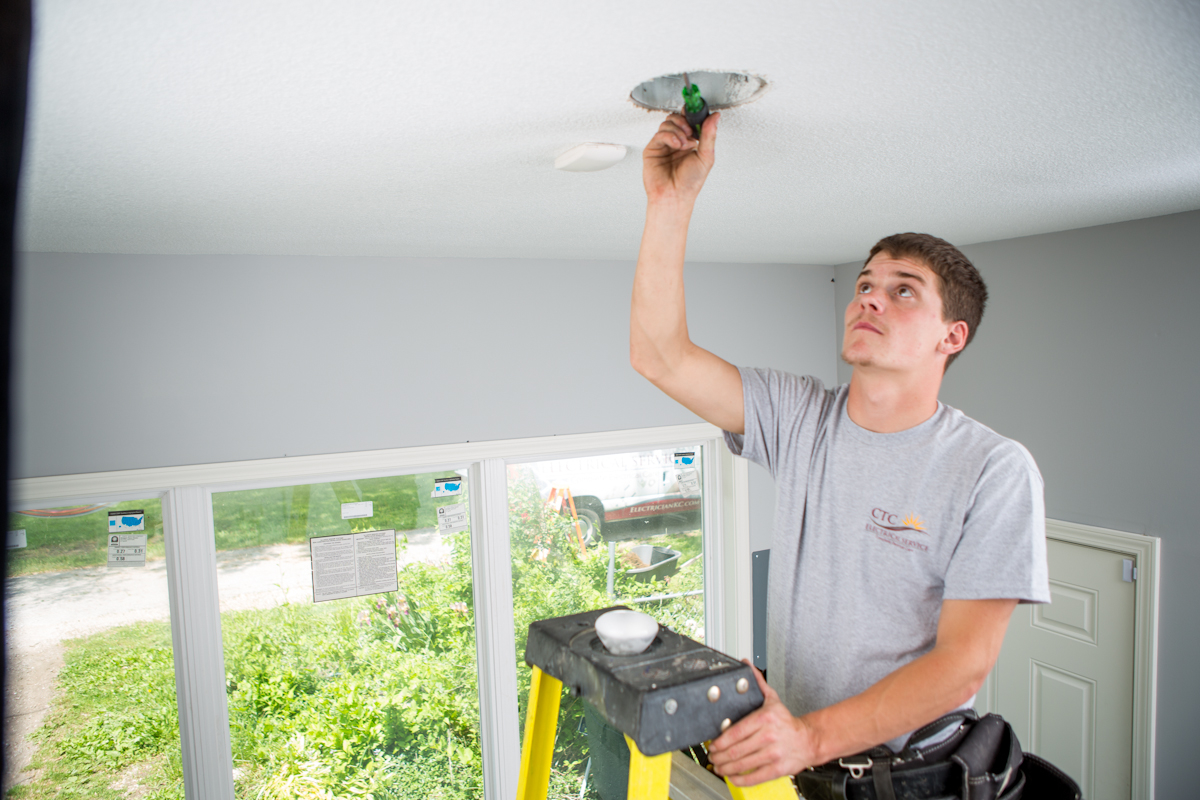 Jeremy Electrical, Heating & Cooling residential electrician.