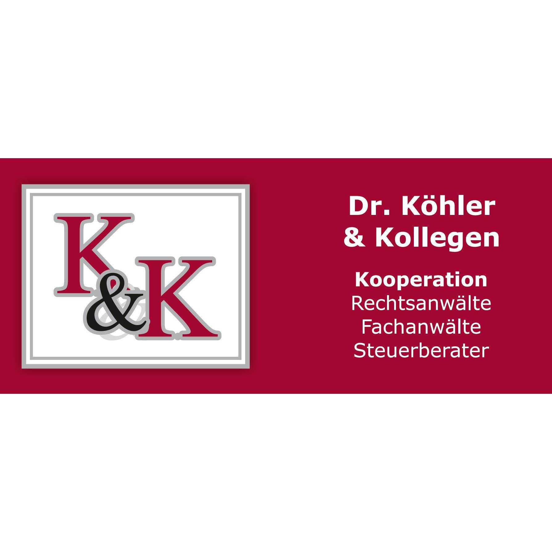 Logo von Dr. Köhler & Kollegen, Rechtsanwälte