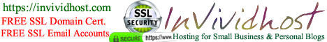 FREE SSL Email account on your own domain.