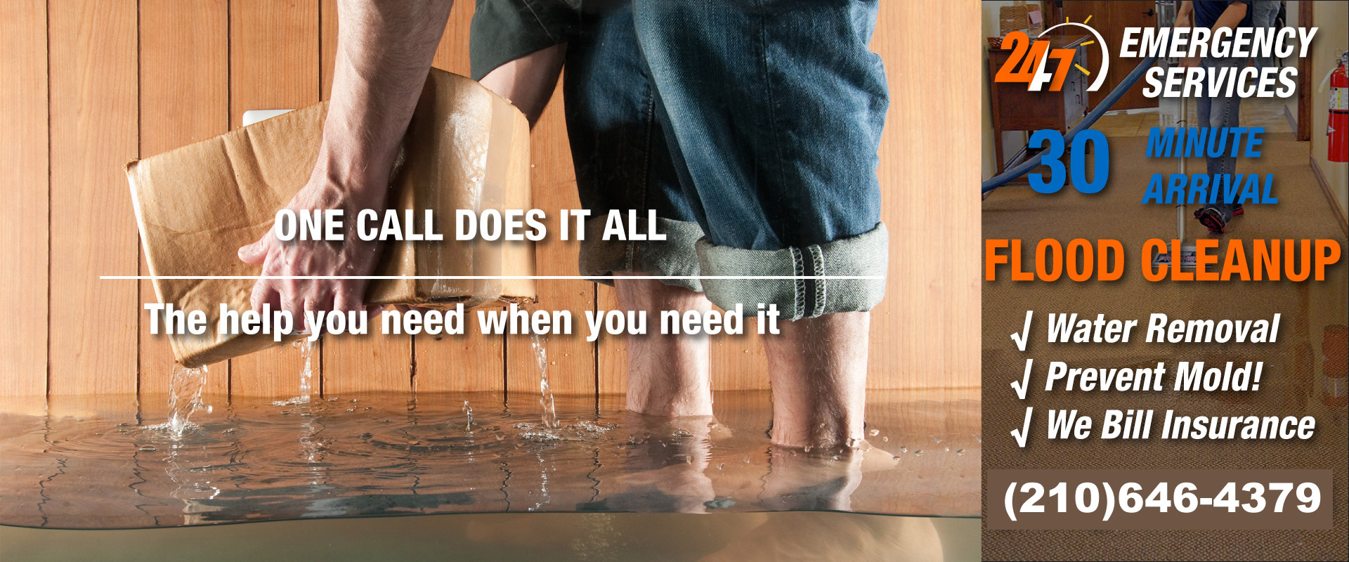 San Antonio Water Damage & Restoration