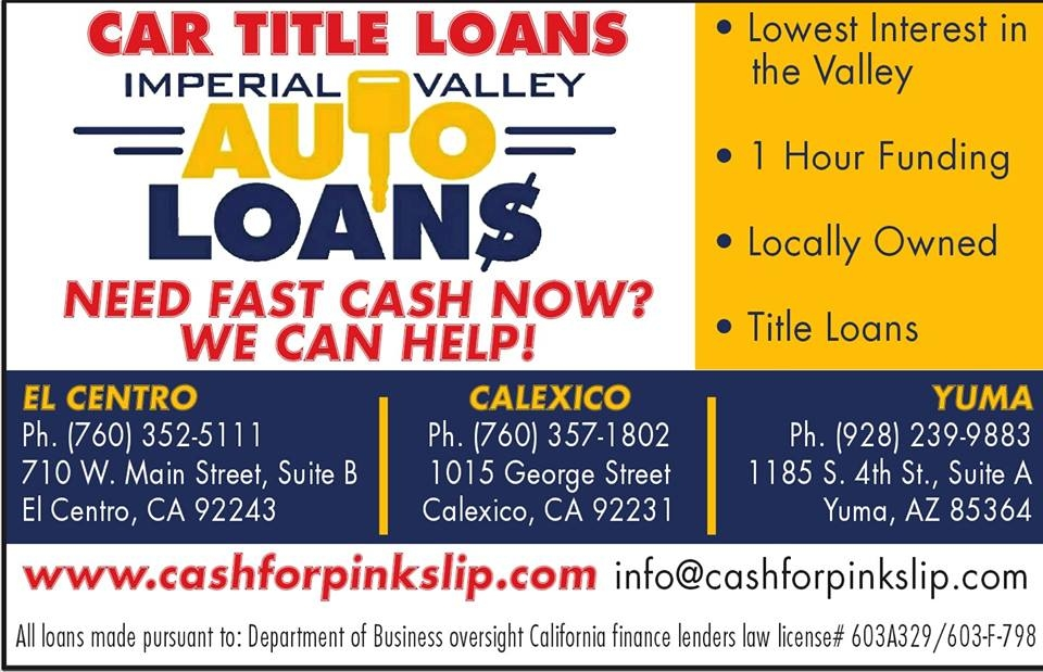 Car Broker Near Me >> IMPERIAL VALLEY AUTO LOANS INC-CAR TITLE LOANS Coupons near me in CALEXICO | 8coupons