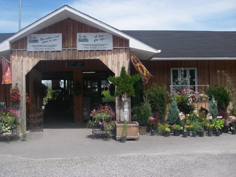 Cramer Nursery Inc à Les Cèdres