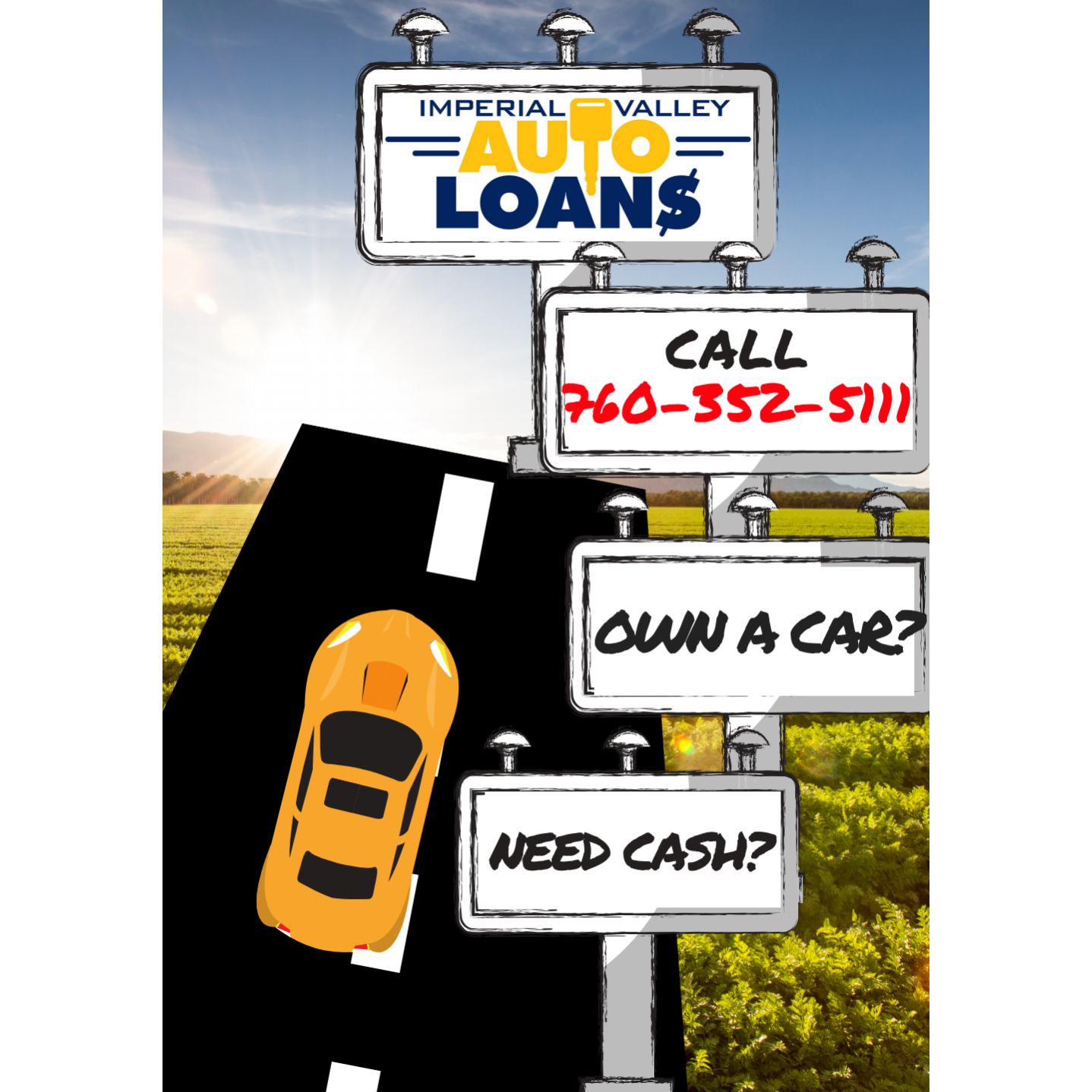 IMPERIAL VALLEY AUTO LOANS INC-CAR TITLE LOANS In El