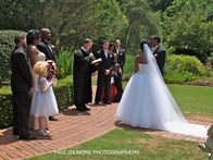 Reverend Johnson Little Gardens Atlanta Ga –metro wedding ministers, marriage officiants,  wedding priests, chapels, pastors, clergy to marry, bridal vows, courthouse justice of peace to elope!  770-963-7472
