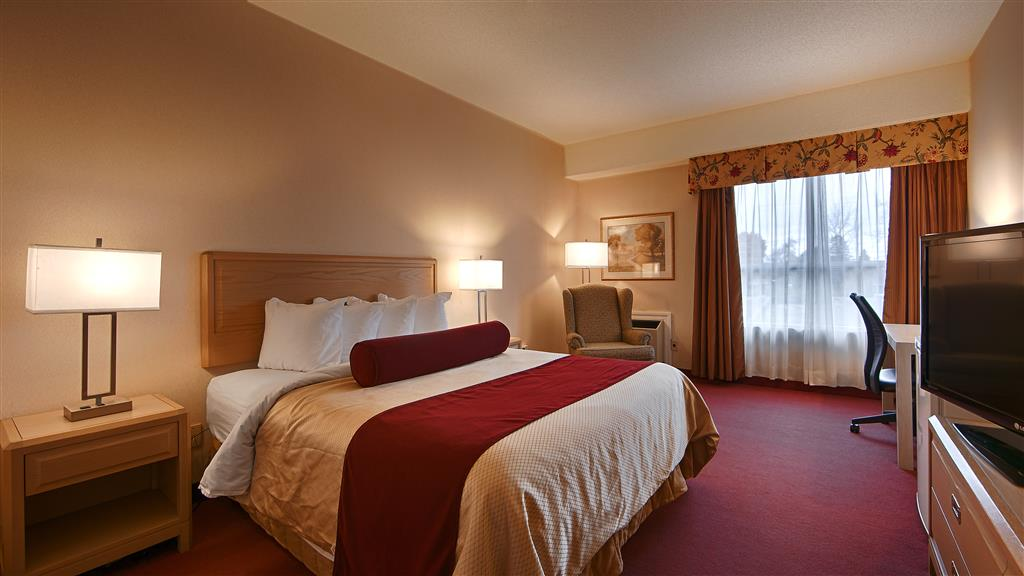 Best Western Little River Inn in Simcoe: Queen Guest Room