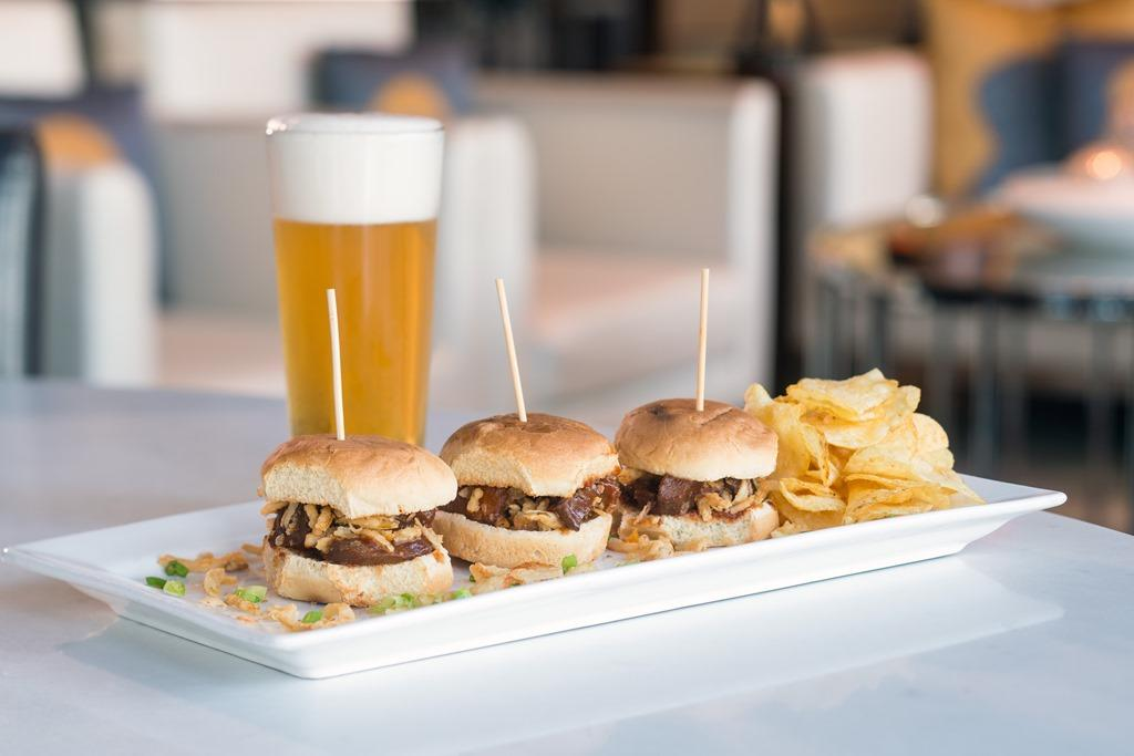 Nineteen26 Bar & Lounge Pork Sliders - Our Pork Sliders are one of the most popular menu items at Nineteen26 Bar & Lounge. Take a friend or client for lunch to bond while savoring rich BBQ flavor alon