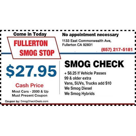 Fullerton Smog Stop