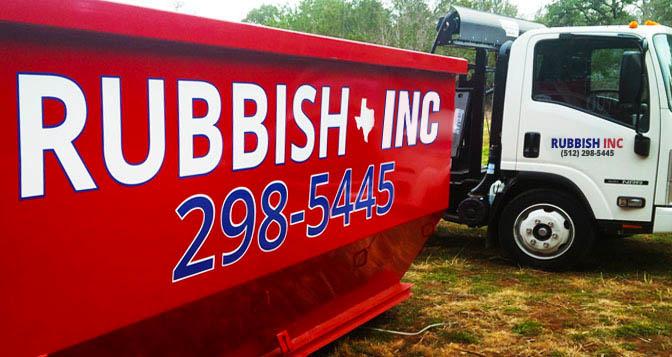 Rubbish Inc - West Austin image 1