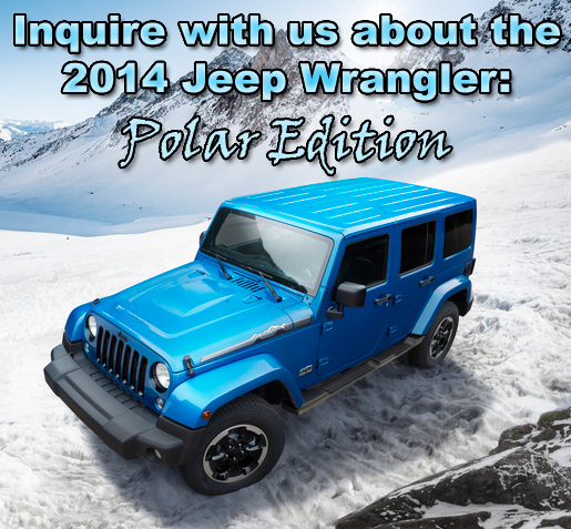 2014 Jeep Wrangler Polar Edition For Sale Kernersville, NC