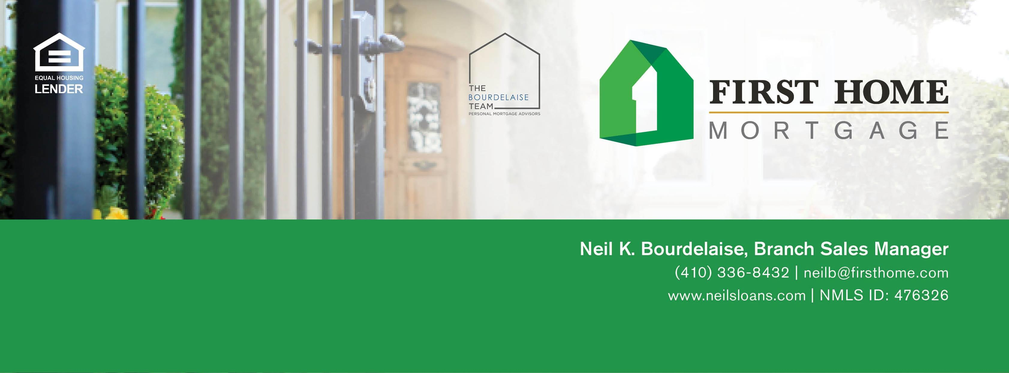 Neil Bourdelaise, Branch Sales Manager with First Home Mortgage image 3