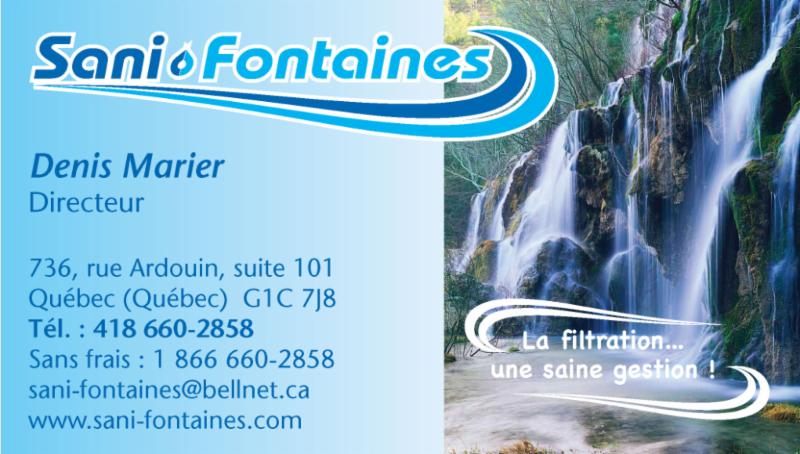 Sani-Fontaines à Québec