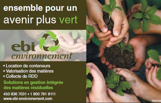 EBI Environnement Inc à Berthierville