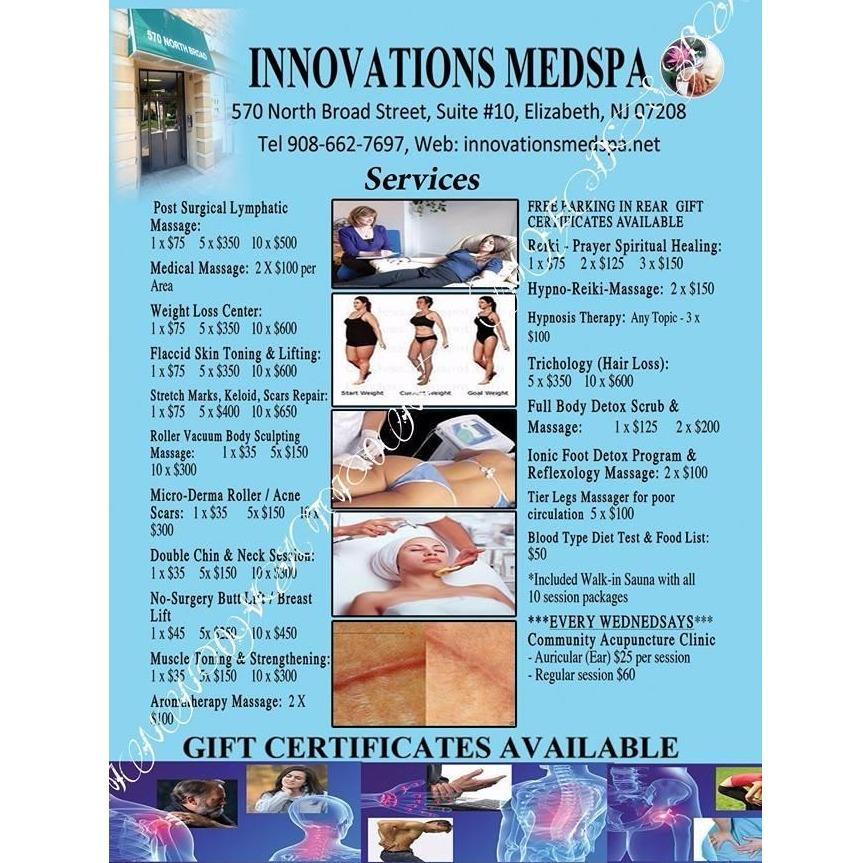 Innovations Med Spa Elizabeth Nj