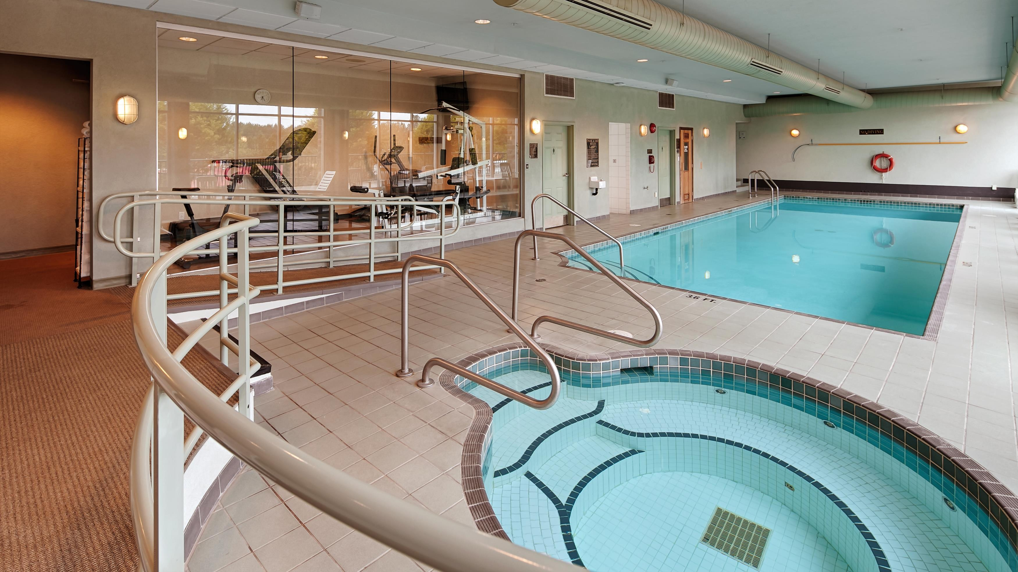 Best Western Plus Mission City Lodge in Mission: Indoor Hot Tub