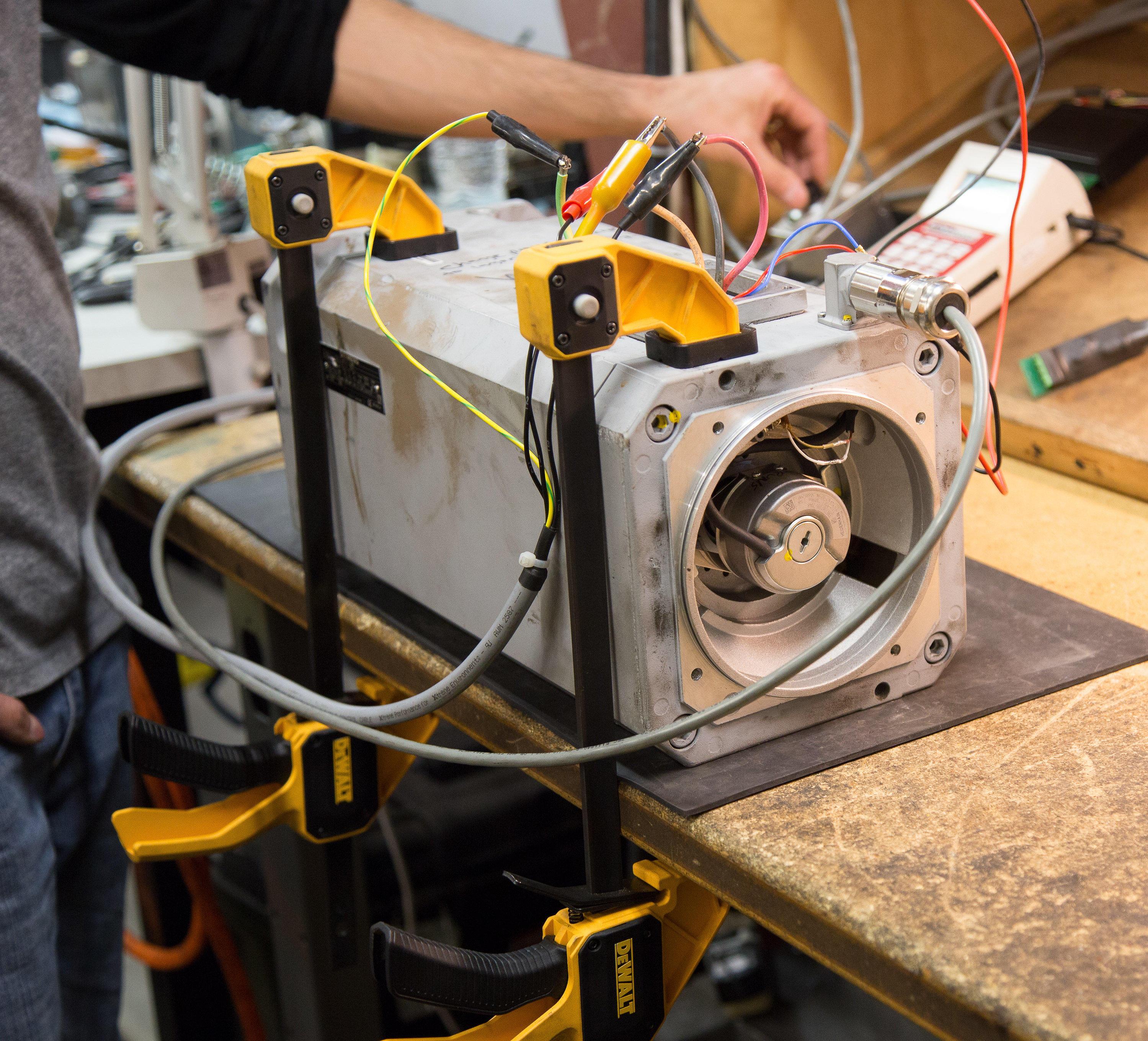 Farmers Branch Tx Industrial Repair Service Find Printed Circuit Board On Allen Bradley Magnetek Yaskawa Print