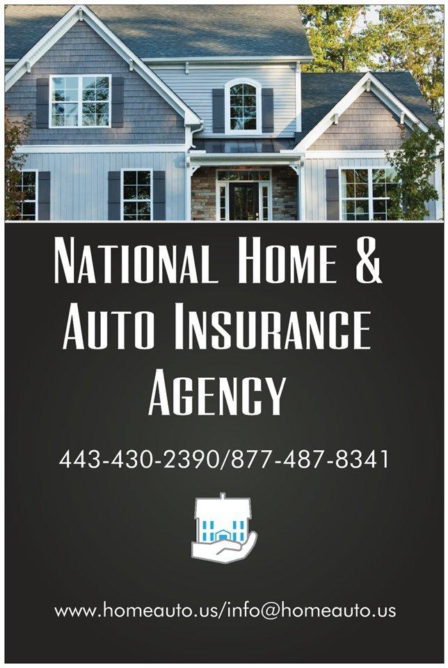 National Home Auto Insurance Agency Hunt Valley Md