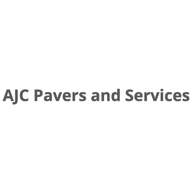 AJC Pavers and Services Logo