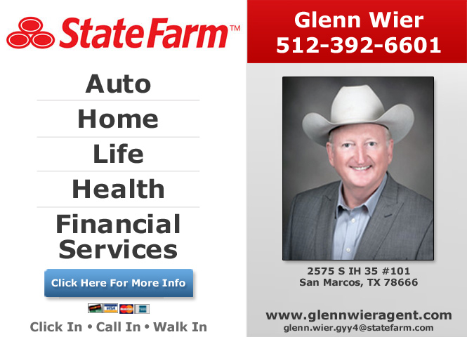 Glenn Wier - State Farm Insurance Agent - ad image