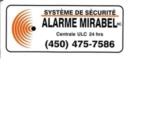 Alarme Mirabel Inc à Mirabel