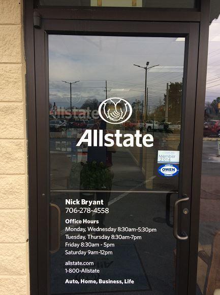 Allstate Insurance Agent: Nicholas Bryant image 1