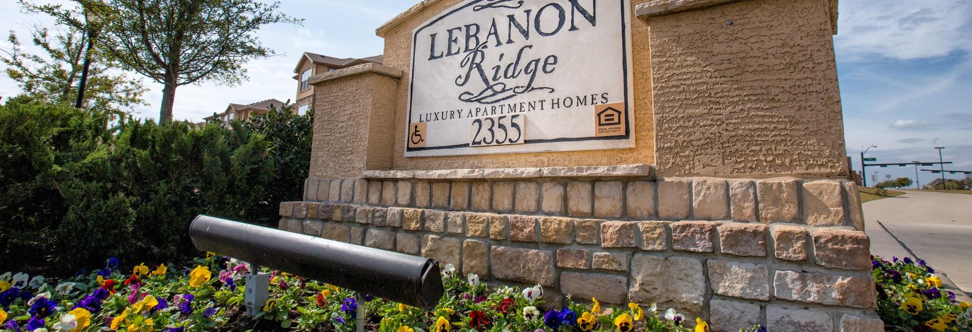 Lebanon Ridge Apartments 2355 Lebanon Rd Frisco Tx