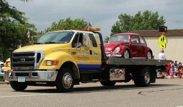 Bob 39 s towing recovery inc elk river morrell towing for Allstate motor club towing