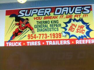 super daves 24hr mobil truck repair service inc