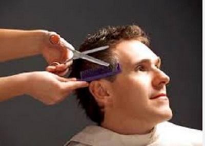 Applicazione per taglio capelli uomo