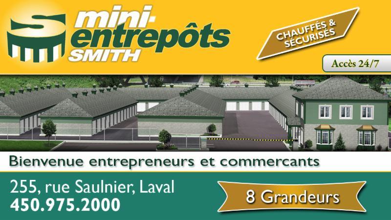 Entrepôts Smith à Laval
