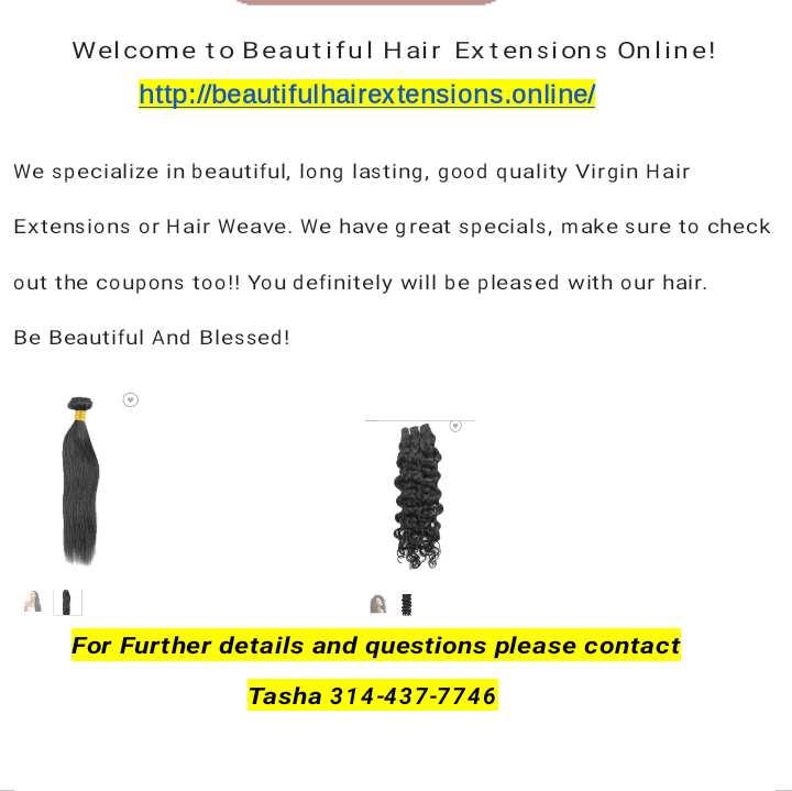 Beautiful Hair Extensions Online image 3