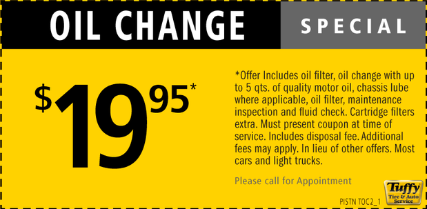 Car x oil change coupons