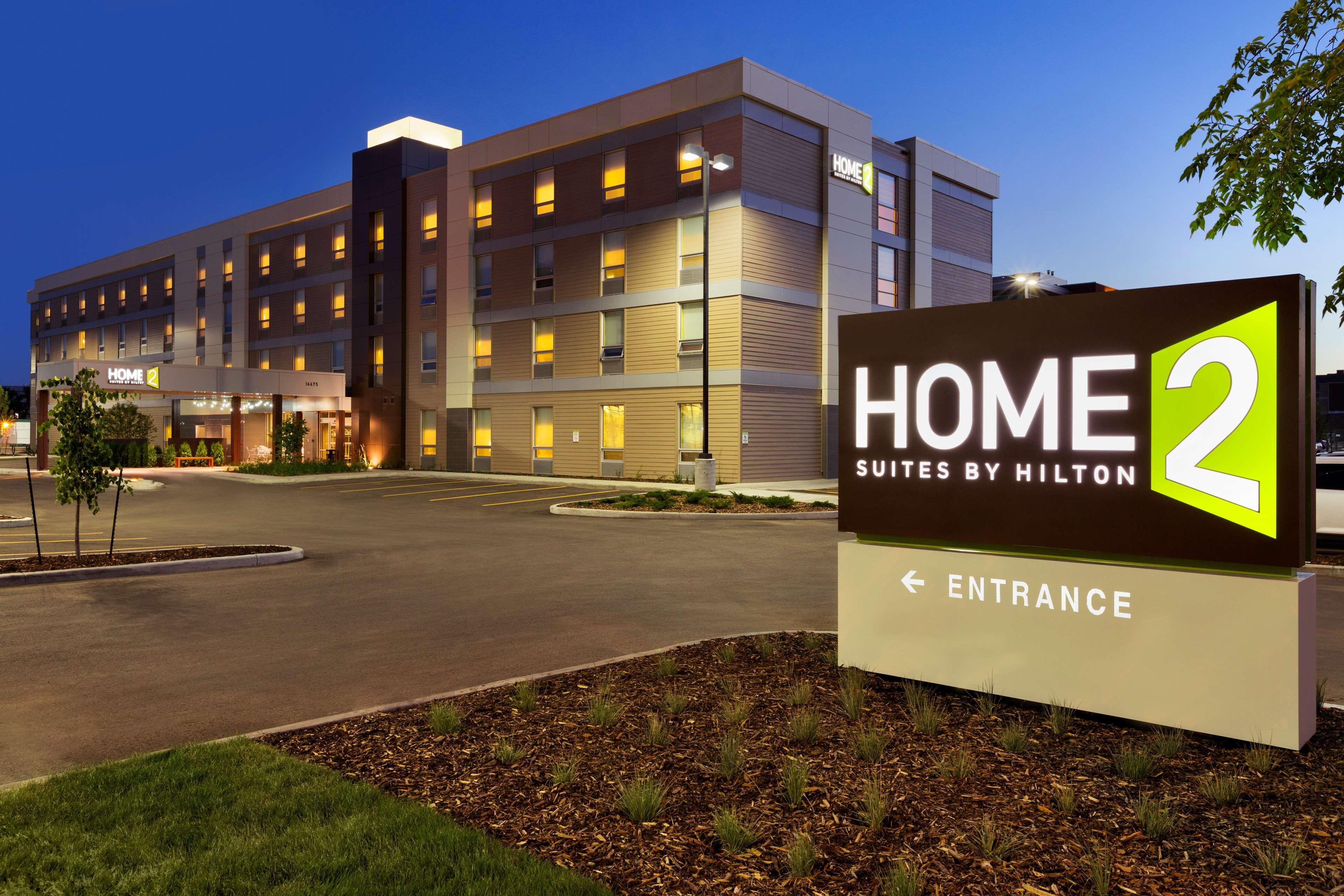 Home2 Suites by Hilton West Edmonton, Alberta, Canada in Edmonton: Exterior