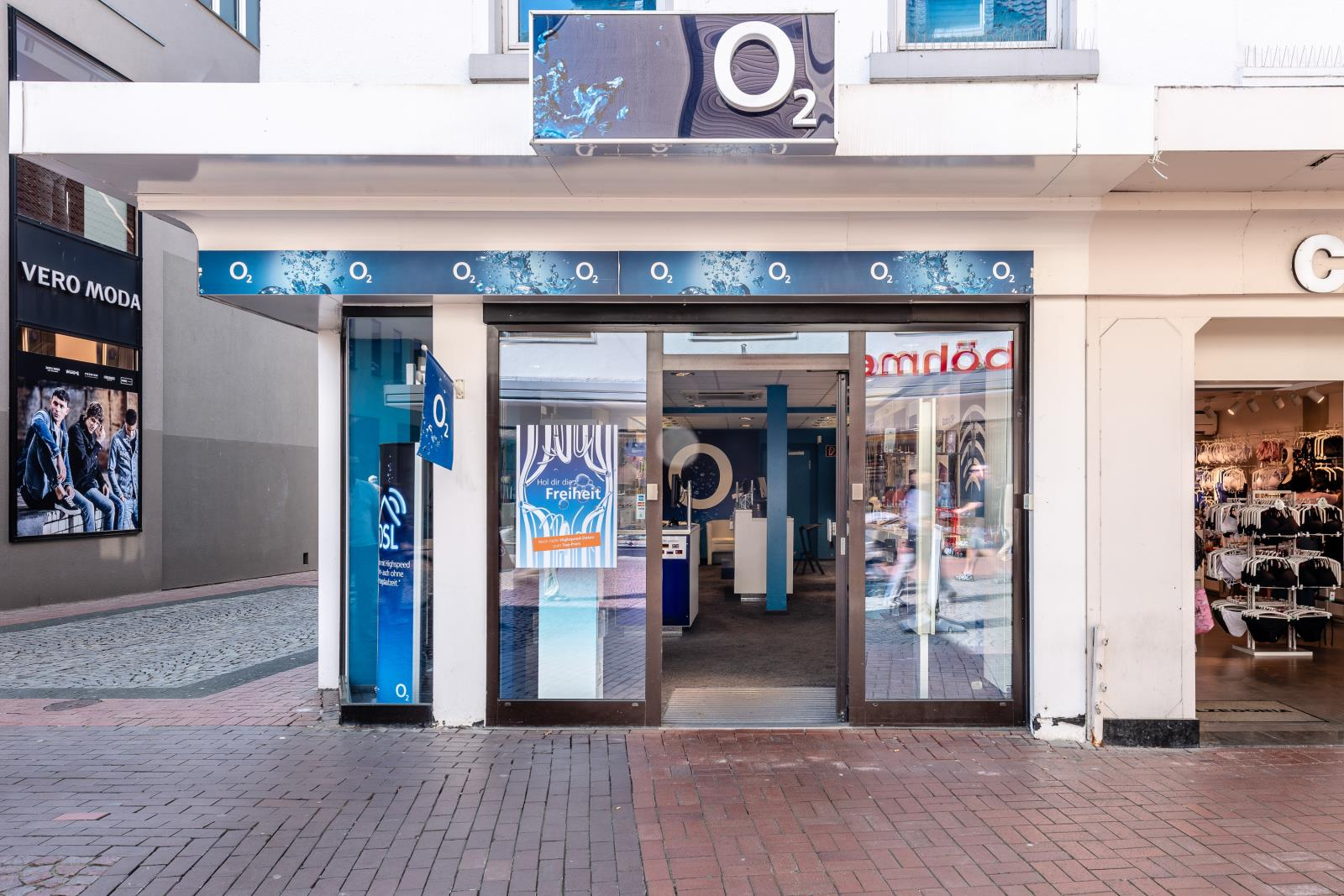 o2 Shop, Steinstr. 39 in Moers