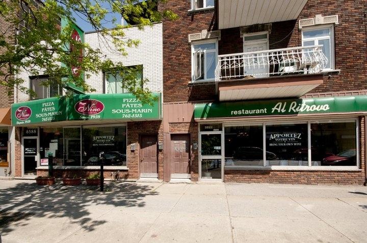 Restaurant Pizza Nino à Montréal