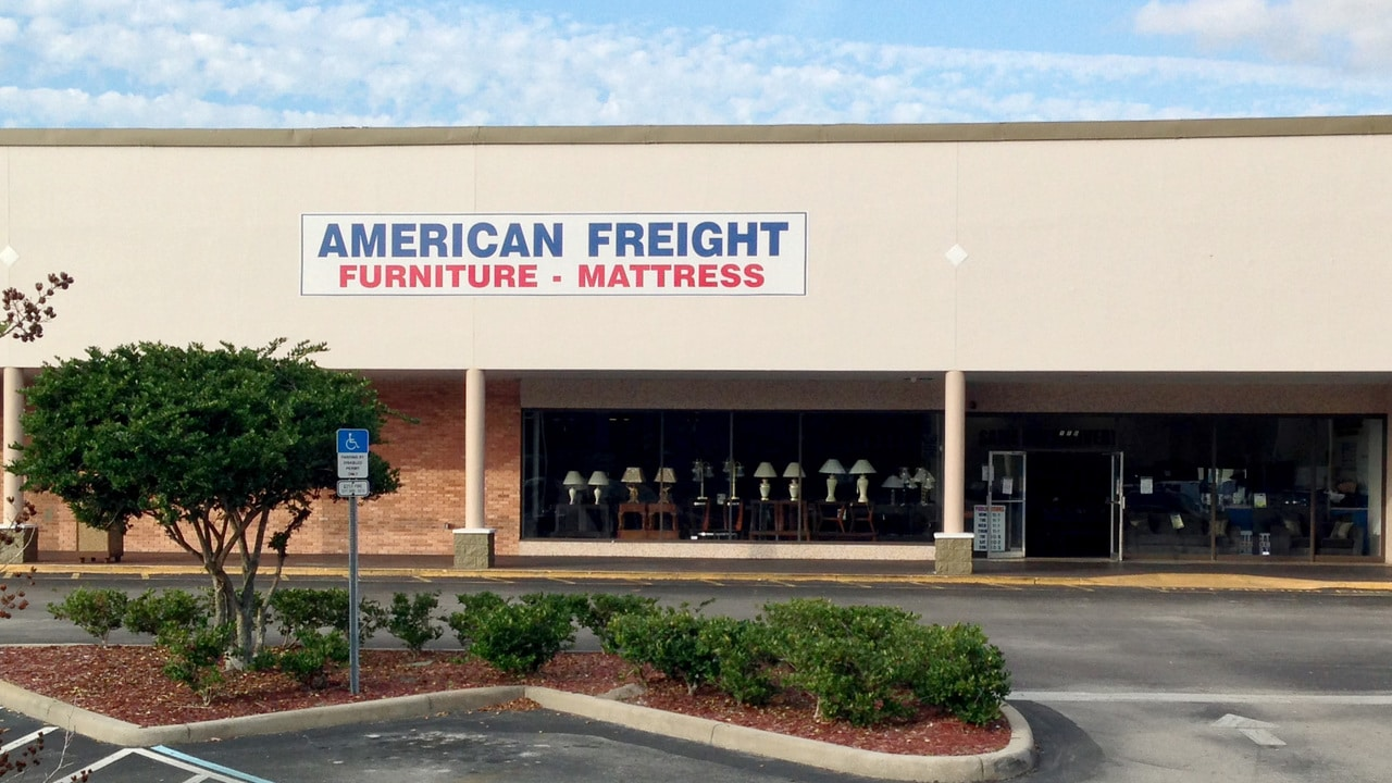 American Freight Furniture And Mattress. Print. Share. 2921 S Orlando Dr,  #110. Sanford, FL 32773