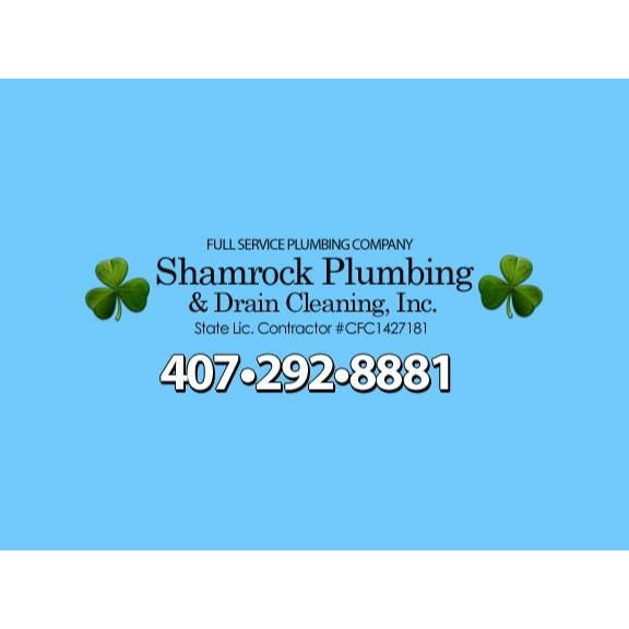 Shamrock Plumbing and Drain Cleaning Inc.