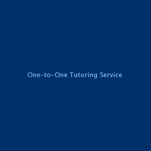 One-To-One Tutoring Service image 1