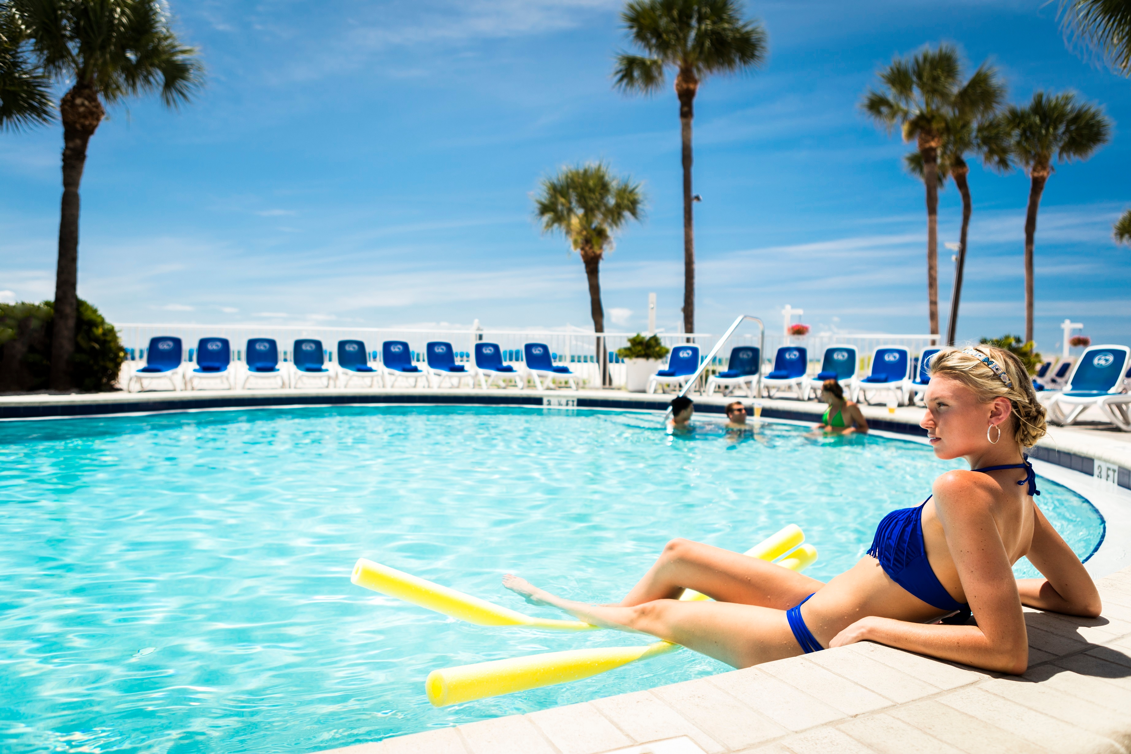 Relax and unwind at our adults-only pool.