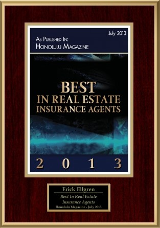 Best in Real Estate Insurance Agents 2013 Honolulu Magazine