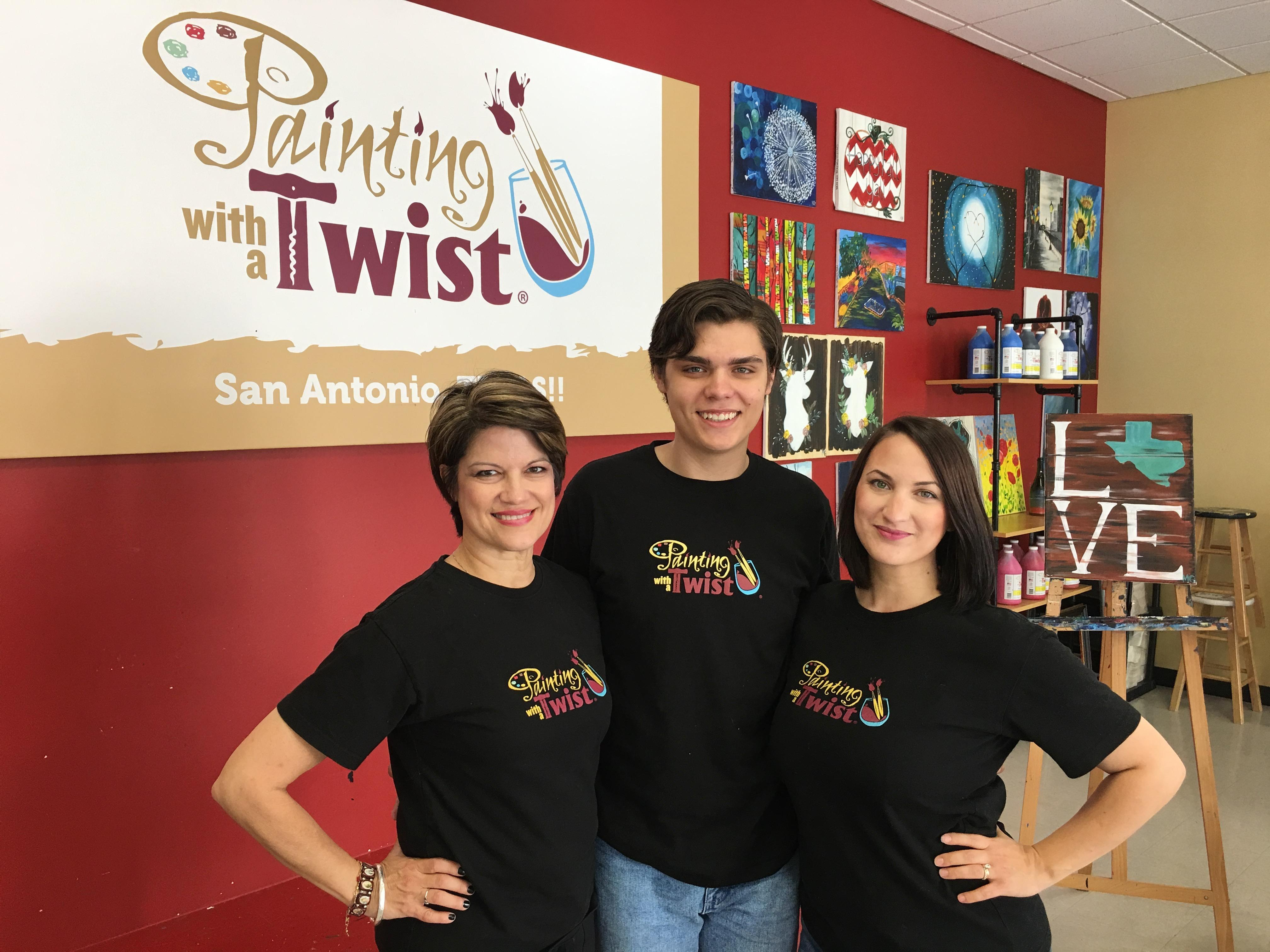 Painting with a twist san antonio tx business directory for Painting with a twist san diego