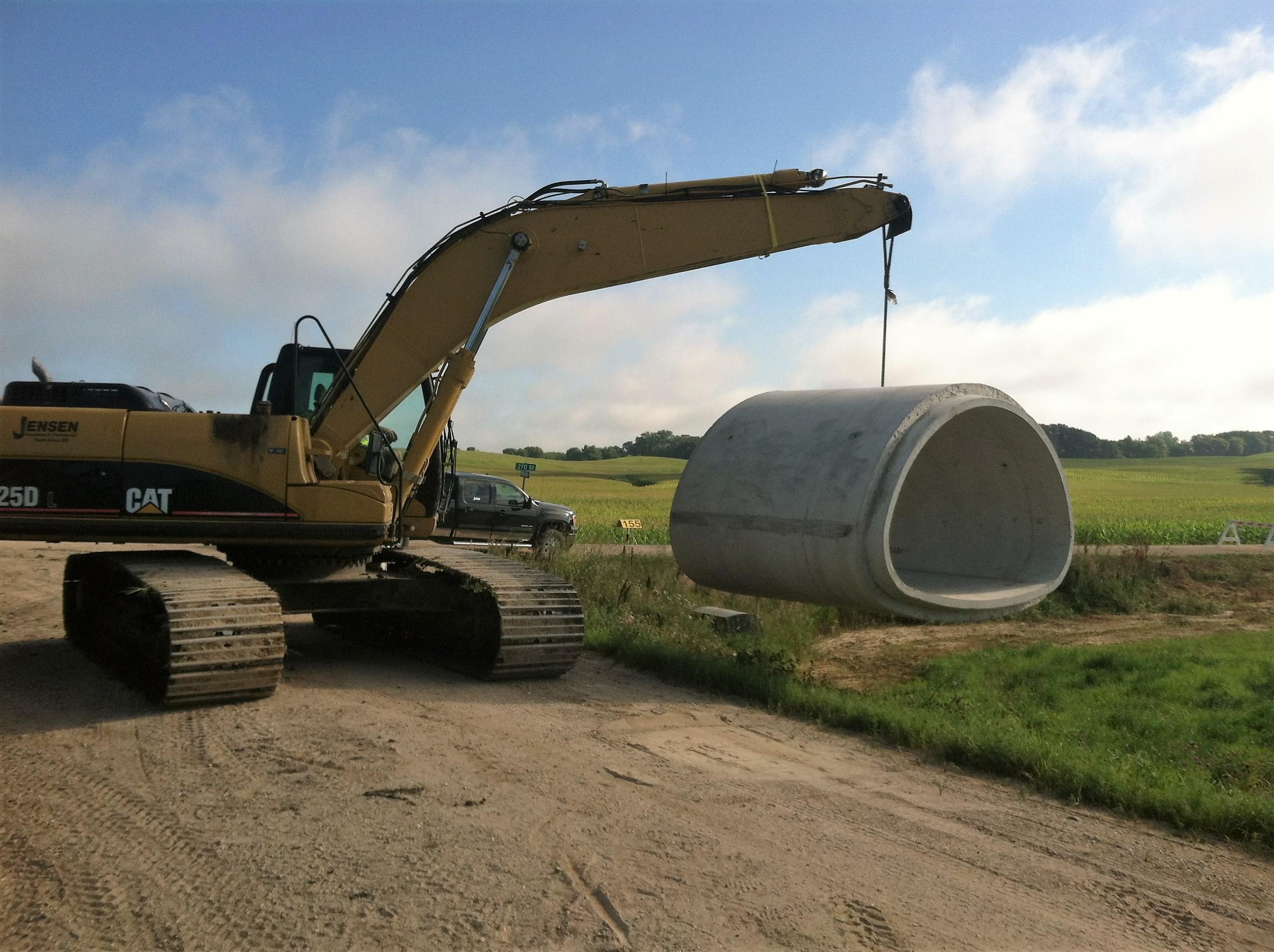 Jensen Excavating And Trucking LLC image 0