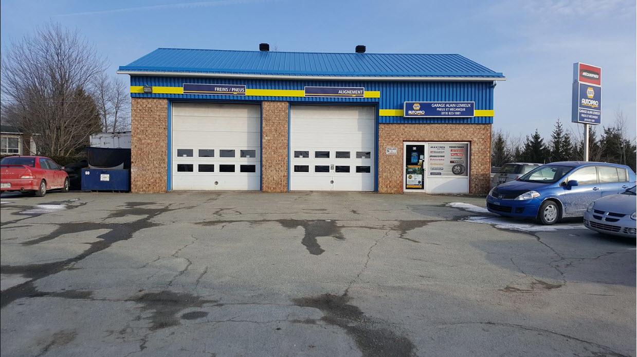Garage Alain Lemieux Inc à Sherbrooke