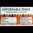 Affordable Fence, LLC. image 0