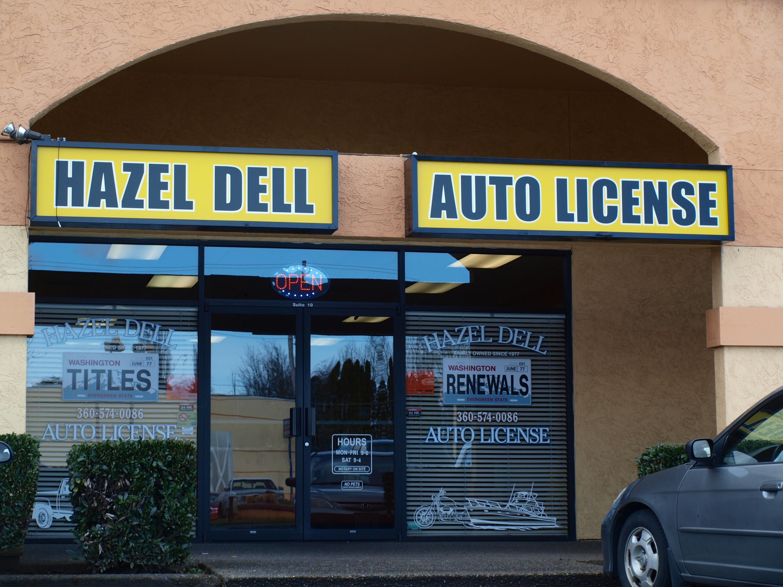 hazel dell auto license in vancouver wa 360 574 0