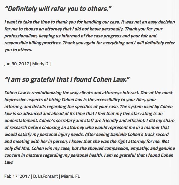 Cohen Law image 4