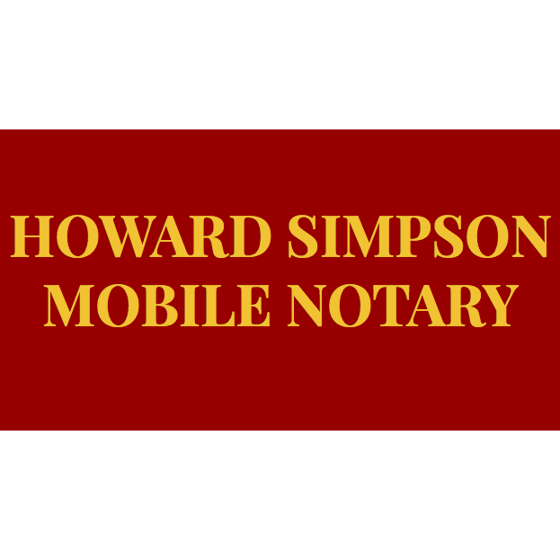 Howard Simpson Mobile Notary