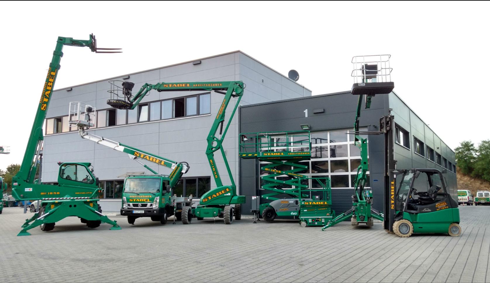 Arbeitsbühnen Stabel GmbH Arbeitsbühnen & Stapler Amberg